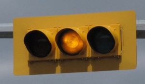 Traffic Light - Yellow