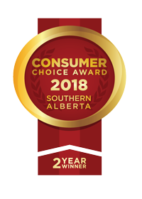 Derek Brown wins Consumer Choice Award for Southern Alberta 2 years in a row